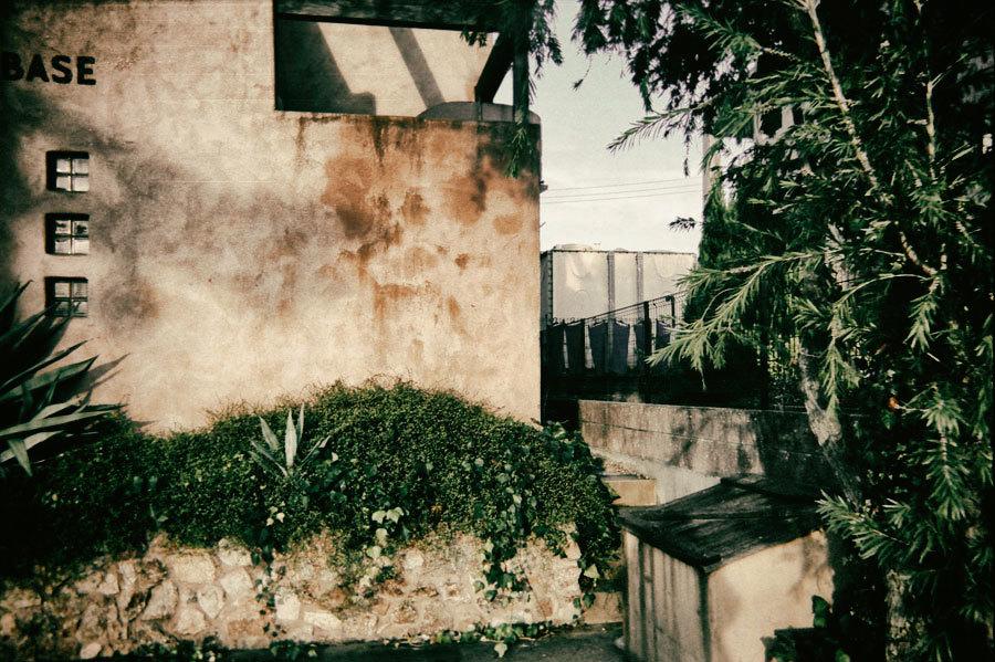 平城山の壁