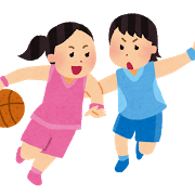 股関節とバスケットボール