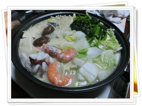 海鮮豆乳鍋1