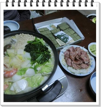 奈良での晩餐1