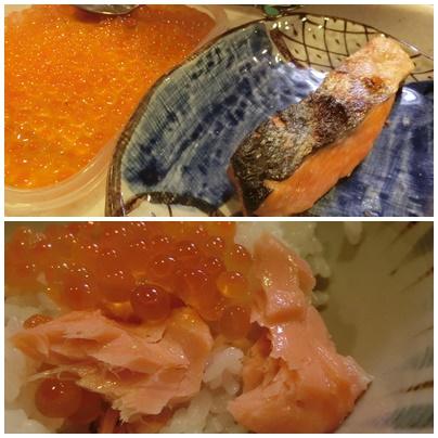 鮭とイクラと新海苔2