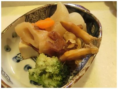 牡蠣飯と煮物