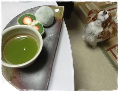 いちご抹茶大福7