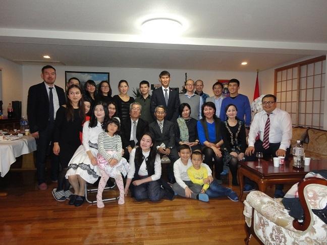 キルギス大使館新宴会