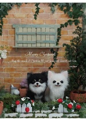 クリスマスカード採用分