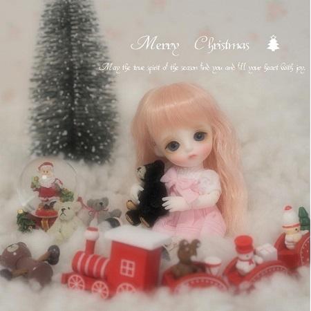 ブログちゅちゅのクリスマスカード (2)
