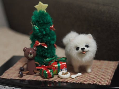 クリスマスポメ1202ブログ2
