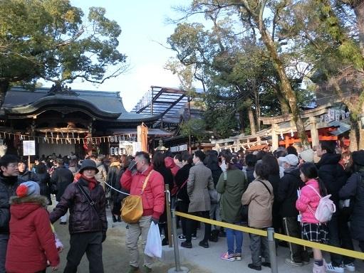 12 石切神社・参拝者