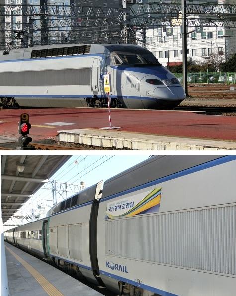 23高速鉄道KTX車両