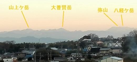 5s 大峰山系・遠望