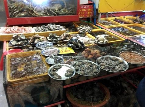 19 チャガルチ市場・内部