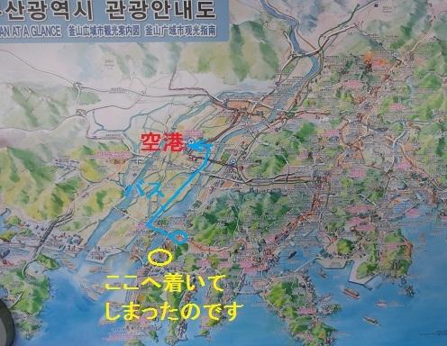 2 空港への地図