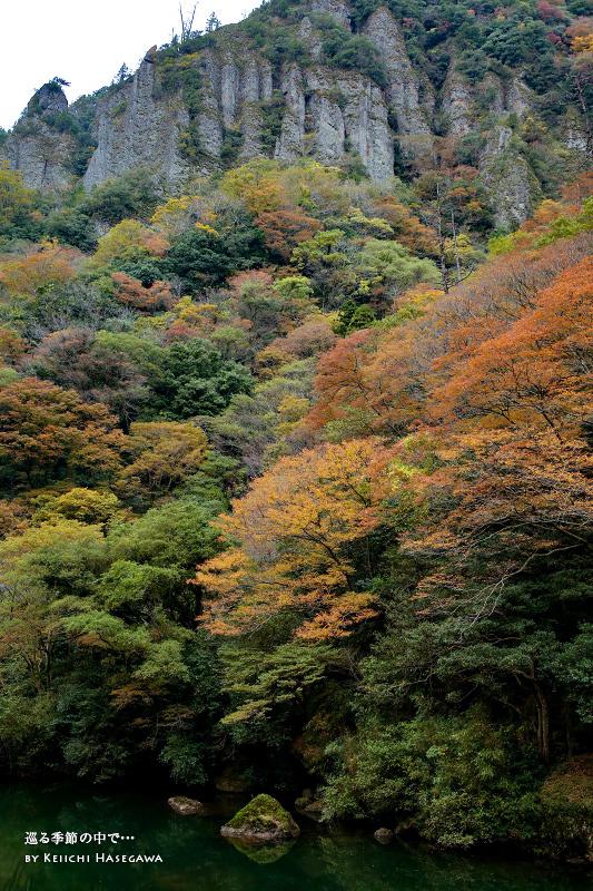 島根県 出雲市 立久恵峡