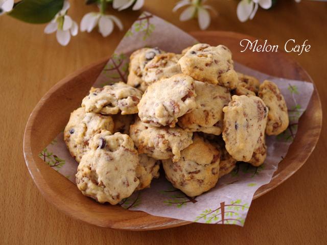 ココアシリアルとHMで簡単クッキー