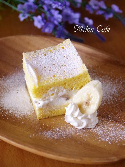 ホットケーキミックスで作るレンジで簡単バナナケーキ00