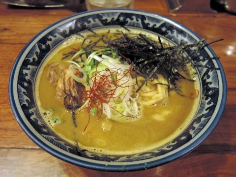 麺や佐市 牡蠣・拉麺