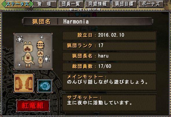 20170211_00_猟団Harmonia1周年
