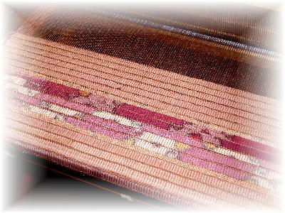 裂き織りマフラー13-3