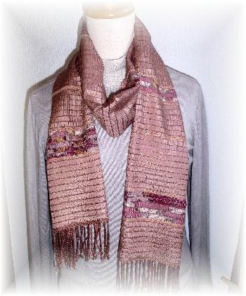 裂き織りマフラー14-2
