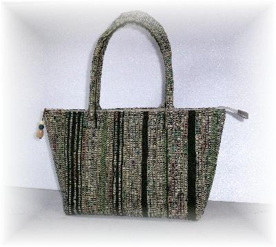 裂き織りバッグ7-1