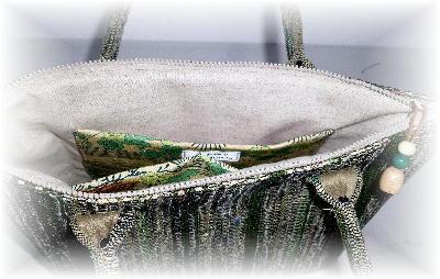 裂き織りバッグ7-3
