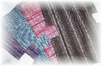 裂き織りバッグ9-1