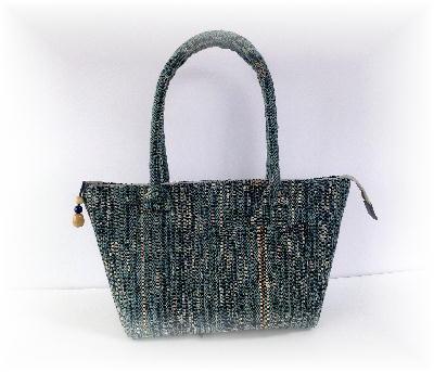 裂き織りバッグ9-2