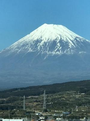 2017 2 月 富士山