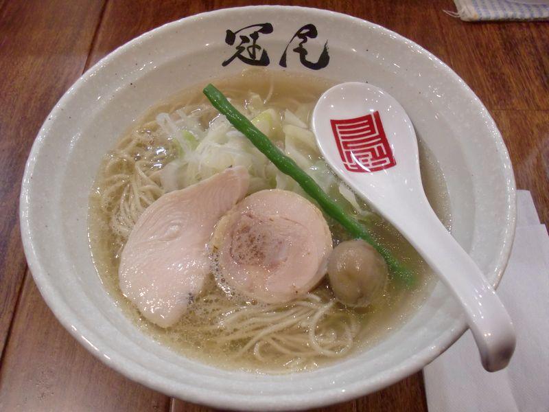 冠尾@恵比寿・20170117・鶏清湯