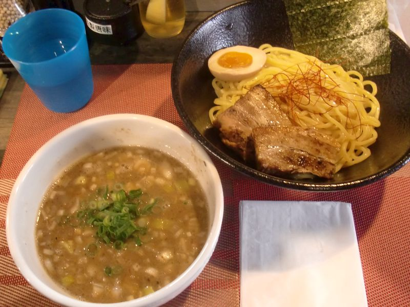 鶏千@高田馬場・20170205・煮干つけ
