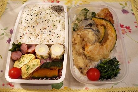 2016 12月 お弁当2個の日3