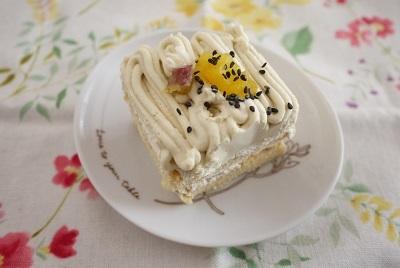 2017 2月 わんこと人間のケーキ