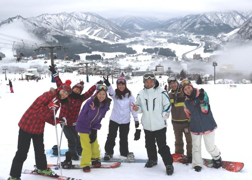 研修医とスキーを楽しむ!