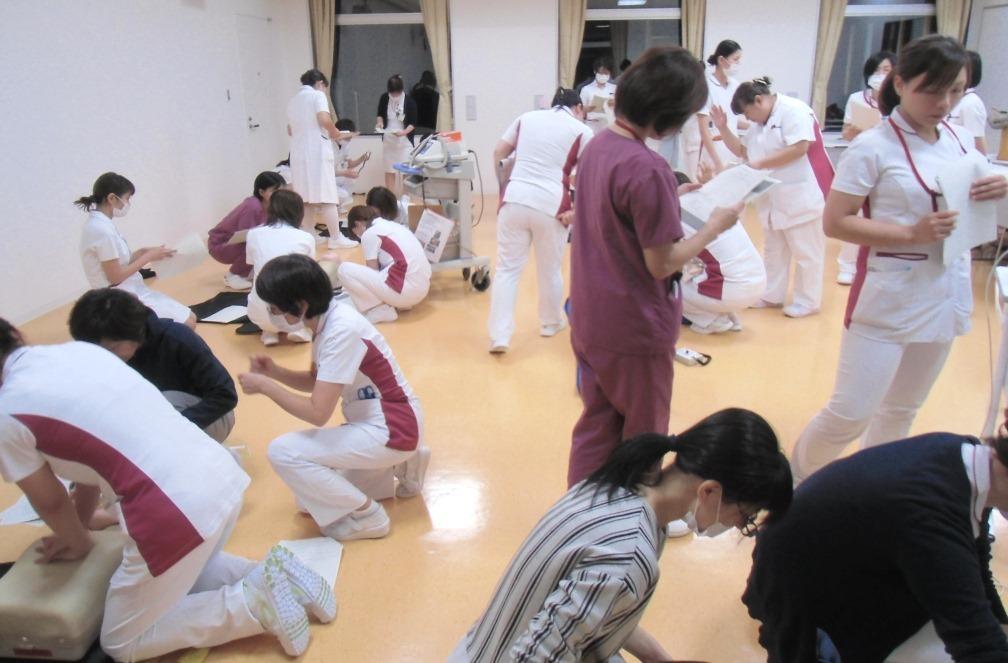 急変研修_グループ分け