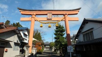 丹波篠山・春日神社01鳥居
