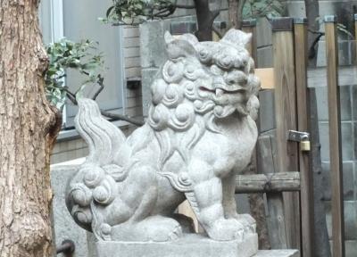 羽呉神社狛1