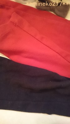 赤いパンツ
