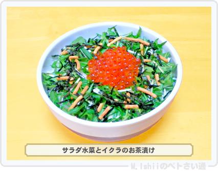 サラダ水菜料理08