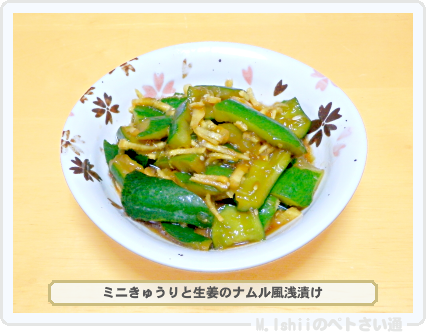 ミニきゅうり料理04