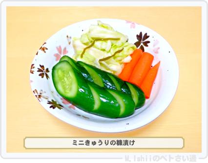 ミニきゅうり料理08