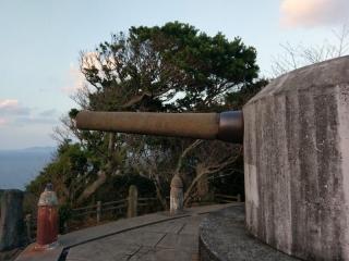 15糎砲 砲身