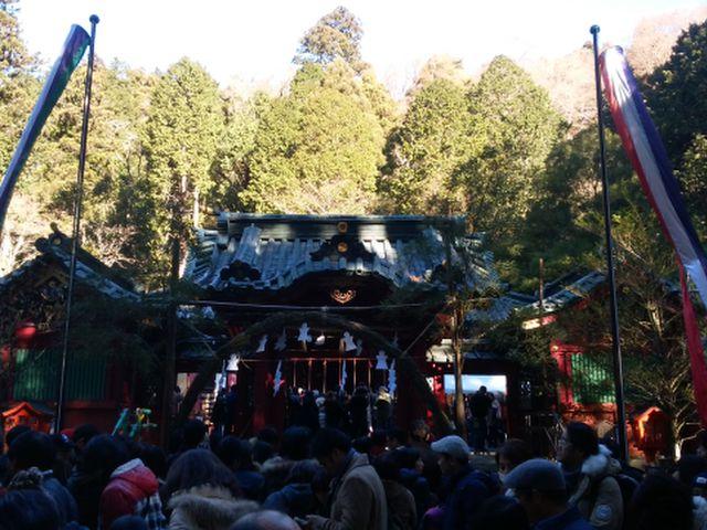 2017-1-1箱根神社①