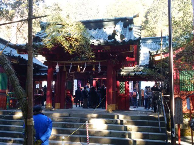 2017-1-1箱根神社②