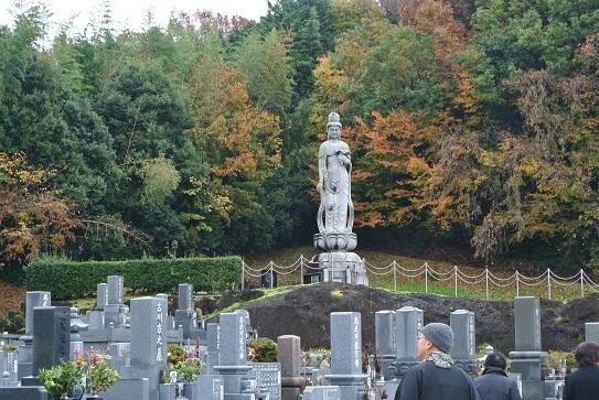 4 御墓のある霊園。