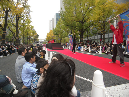 9 大阪芸大生によるパフォーマンス