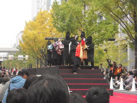 5 能勢(のせ)人形浄瑠璃(じょうるり)鹿角座