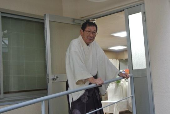 2 宮司さん、戎神社のトップ。