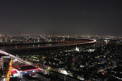 タワーホール夜景