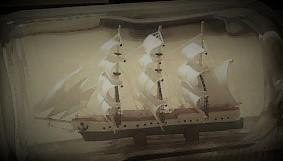 ボトルシップ海賊船