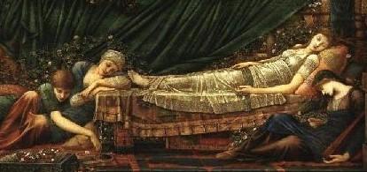 眠り姫バーン・ジョーンズ